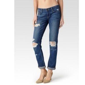 Paige SZ 26 Jimmy Jimmy Skinny Distressed Jeans